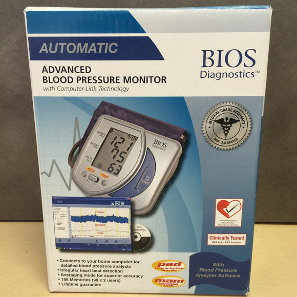 Automatic Advanced Blood Pressure Monitor with Blood Pressure Analyzer Software - Razzaks Computers - Great Products at Low Prices