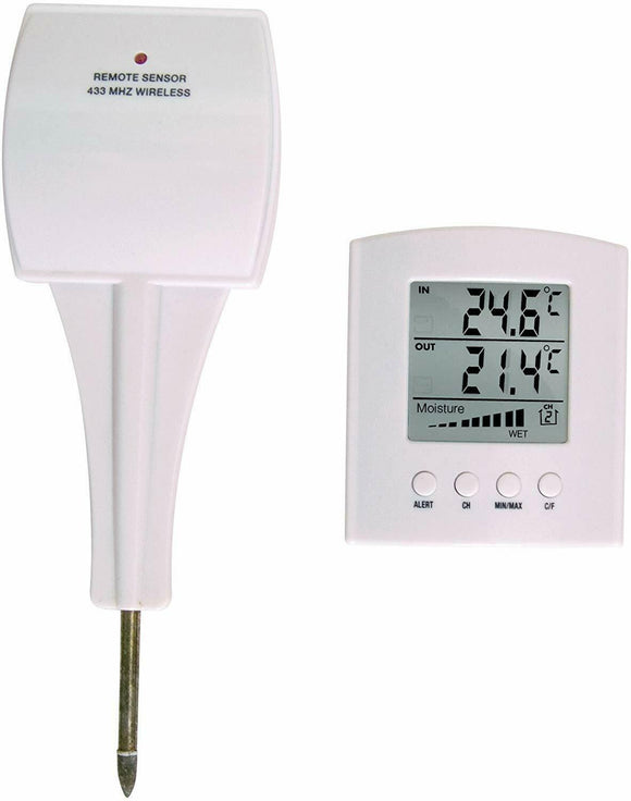 BIOS Weather 304BC Wireless Moisture and Temperature Meter - NEW - Razzaks Computers - Great Products at Low Prices