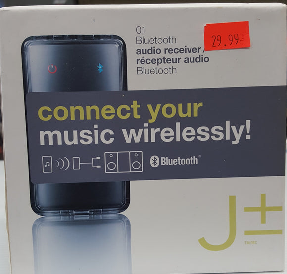 Bluetooth Audio Receiver - Connect your music wirelessly - BRAND NEW - Razzaks Computers - Great Products at Low Prices