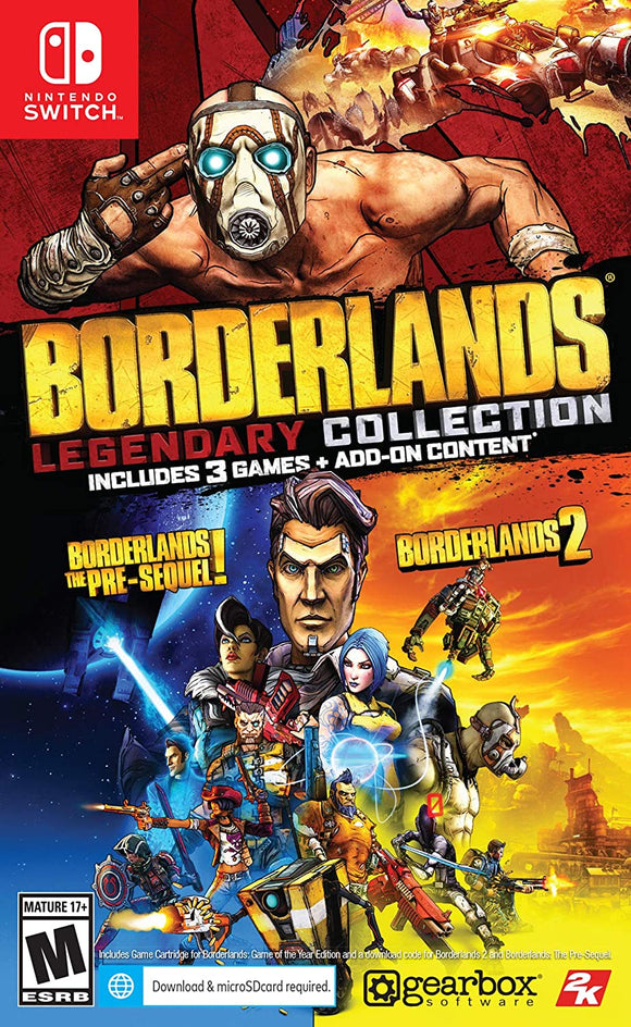 Borderlands Legendary Collections  for Nintendo Switch - New - Razzaks Computers - Great Products at Low Prices