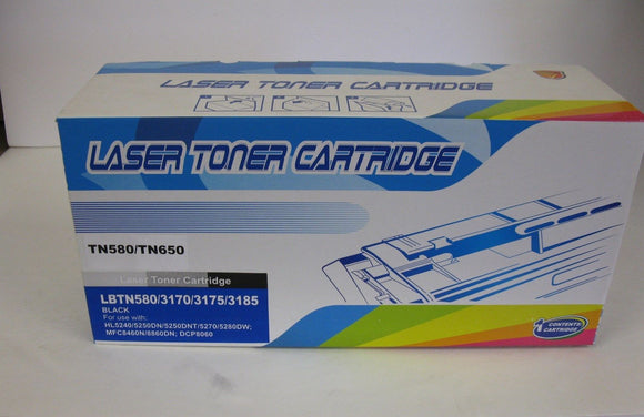 Brother Compatible Premium Black Toner Cartridge TN580, TN640 - BRAND NEW - Razzaks Computers - Great Products at Low Prices