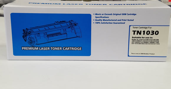 Brother TN-1030 Compatible Toner Cartridge - New