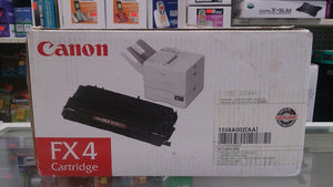 Canon FX-4 Toner Cartridge for Canon FX4 FAX-L900 8500 9000 9800 9000L L900 Black - New