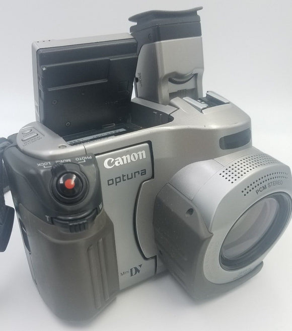Vintage Canon Optura Digital Video Camcorder Camera Mini DV Model NTSC 35X Digital Zoom - USED - Razzaks Computers - Great Products at Low Prices