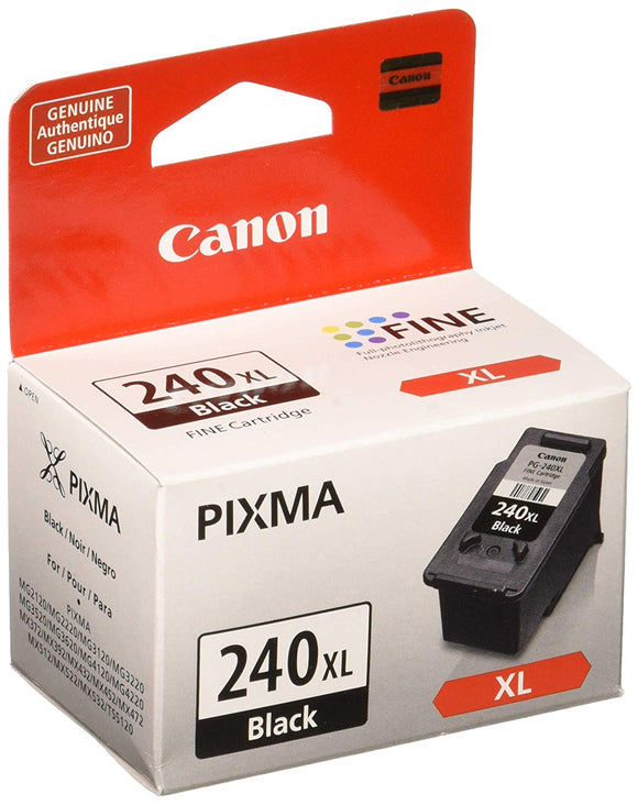 Canon PG-240XL Black Ink Cartridge, Compatible to MG3620, MG3520, MG4220,MG3220 and MG2220 - Razzaks Computers - Great Products at Low Prices