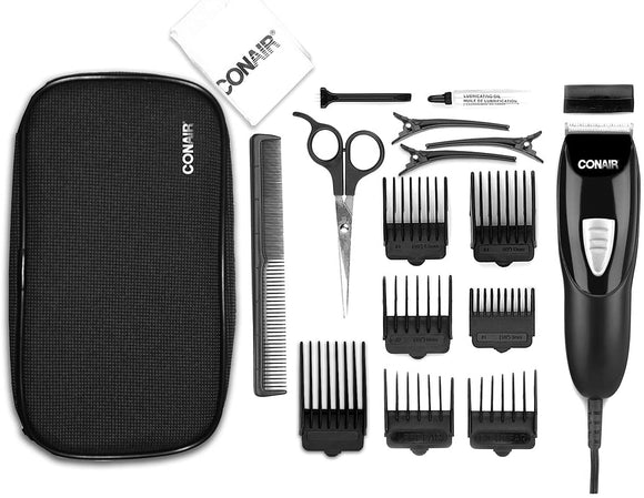 Conair 18-Piece Haircut Kit, Hair Clipper, Hair Trimming Accurate Cut for Men Model HC918AC - Razzaks Computers - Great Products at Low Prices