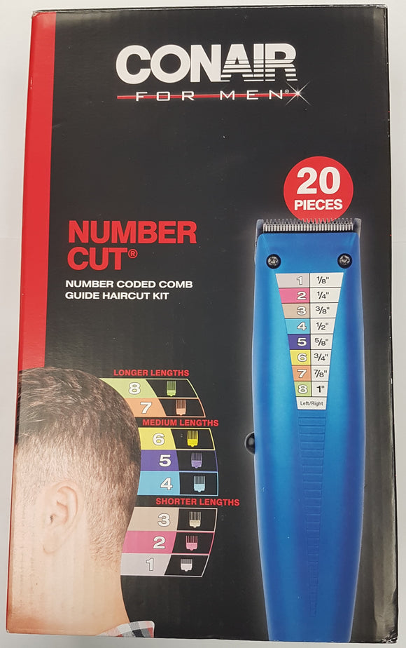 Conair 20-Piece Haircutting Kit, Hair Clipper, Hair Trimming Accurate Cut for Men Model HC95WNC - Razzaks Computers - Great Products at Low Prices