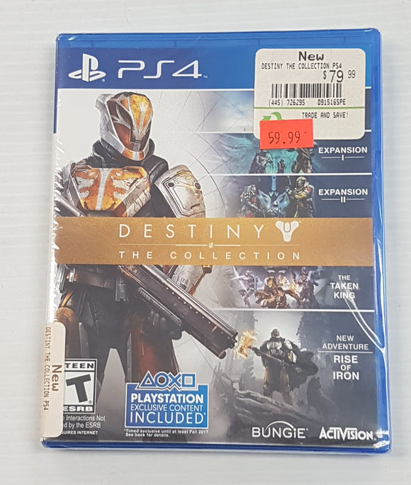Destiny The Collection PlayStation 4 PS 4 - The Collection Edition - New - Razzaks Computers - Great Products at Low Prices