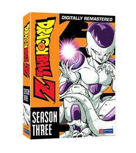 Dragon Ball Z: Season 3 (Frieza Saga) DVD Box Set Digitally Remastered - New - Razzaks Computers - Great Products at Low Prices
