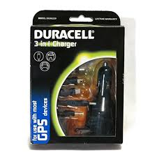 Duracell GPS 3-in-1 Charger - AC, Car and USB Adapter 2.1A - NEW