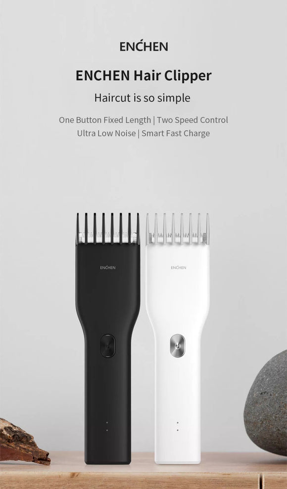 Xiaomi MJ ENCHEN Boost USB Electric Haircutting kit, Hair Clipper, Trimmer Ceramic Hair cutter - Razzaks Computers - Great Products at Low Prices