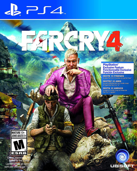 Far Cry 4 for PS4 PlayStation 4 - Standard Edition - English - New - Razzaks Computers - Great Products at Low Prices