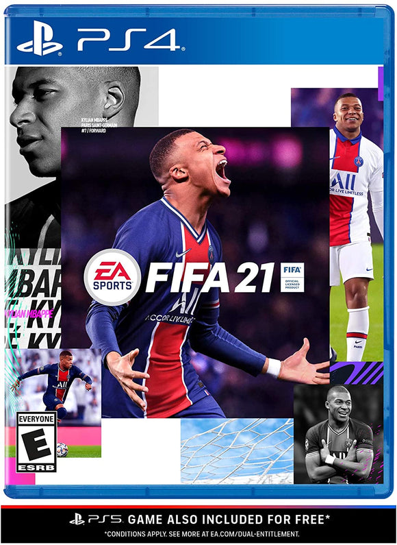 FIFA 21 for PS4 PlayStation 4 Game - Brand New Sealed - Razzaks Computers - Great Products at Low Prices