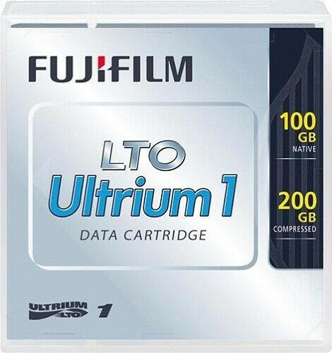 Fujifilm LTO Ultrium 1 Data Cartridge 100 GB Native 200 GB Compressed - New