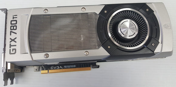 EVGA GeForce GTX 780 Ti Graphic Card - 980 MHz Core - 3 GB GDDR5 SDRAM - Used