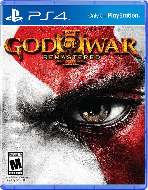 God of War® III Remastered for PS4 Playstation 4 - New - Razzaks Computers - Great Products at Low Prices