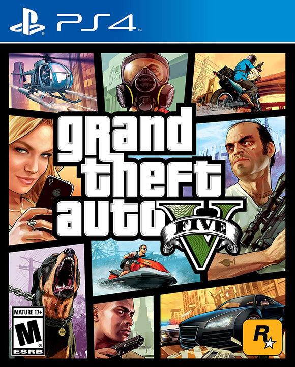 Grand Theft Auto V GTA V Standard Edition for PlaysSation 4 PS4 - New - Razzaks Computers - Great Products at Low Prices