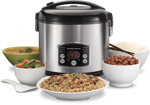 Hamilton Beach 37549C 14 Cup - Digital Simplicity Rice Cooker - Razzaks Computers - Great Products at Low Prices