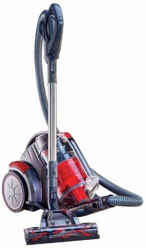 Hoover Zen Whisper Multi Cyclonic Canister Vacuum, Red, SH40080 - Razzaks Computers - Great Products at Low Prices