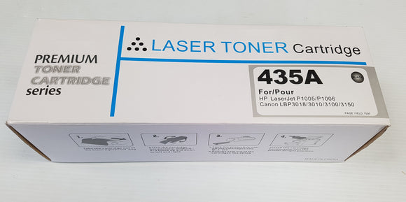 HP Compatible Toner Cartridge 435A for HP Laserjet P1005/P1006 Canon LBP 3018/3010/3100/3150 - New - Razzaks Computers - Great Products at Low Prices