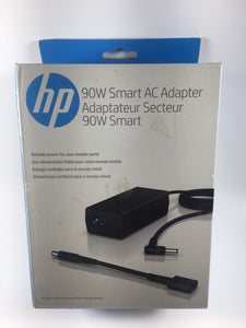 HP Smart AC Adapter 90W G6H43AA Laptop Charger- Black - New - Razzaks Computers - Great Products at Low Prices