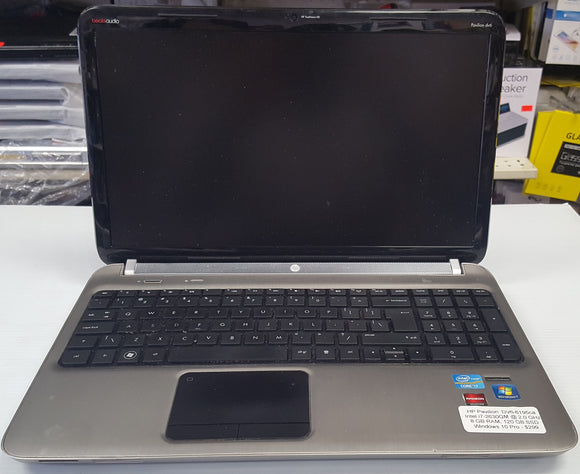 HP Pavilion DV6-6195ca | 2.0GHz, i7-2630QM | 8 GB DDR3, 120 GB SSD - SELLER REFURBISHED