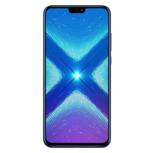 Huawei Honor 8X JSN-L23 4 GB RAM 64GB Storage 6.5' HD 4G LTE GSM Unlocked Smartphone Blue - New - Razzaks Computers - Great Products at Low Prices