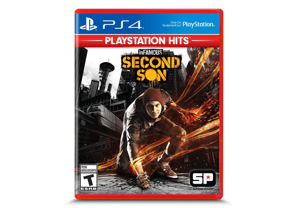 inFAMOUS Second Son™ for PS4 Playstation 4 - New - Razzaks Computers - Great Products at Low Prices