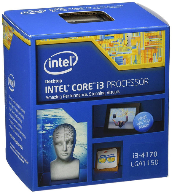 Intel Core i3-4170 3.7 GHz Computer PC CPU Processor Socket H3 LGA 1150 Cache - Brand New - Razzaks Computers - Great Products at Low Prices
