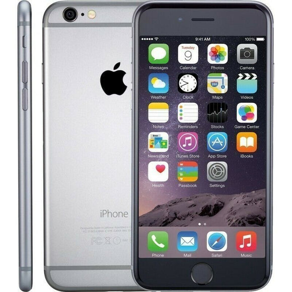 Apple iPhone 6, 64 GB, Space Gray, 4G LTE - Excellent Condition - REFURBISHED