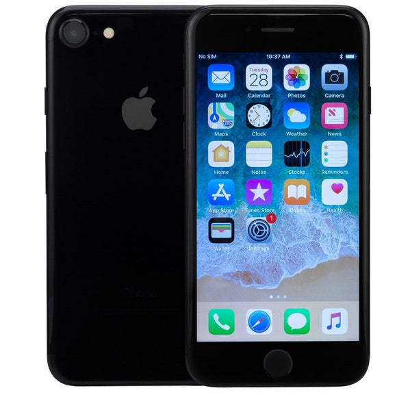 Apple iPhone 7, 128 GB,  GSM Unlocked Smartphone A1778 - Jet Black - Refurbished - Razzaks Computers - Great Products at Low Prices