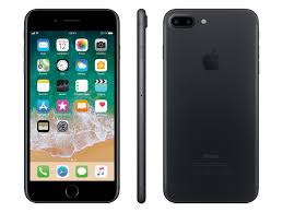 APPLE iPHONE 7+ PLUS 128 GB 4G LTE UNLOCKED SMARTPHONE GSM A1784 Jet Black - USED