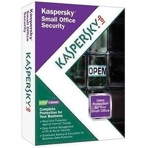 Kaspersky Small Office Security 2011,  1 Server and 5 PCs Retail Box - English - Razzaks Computers - Great Products at Low Prices