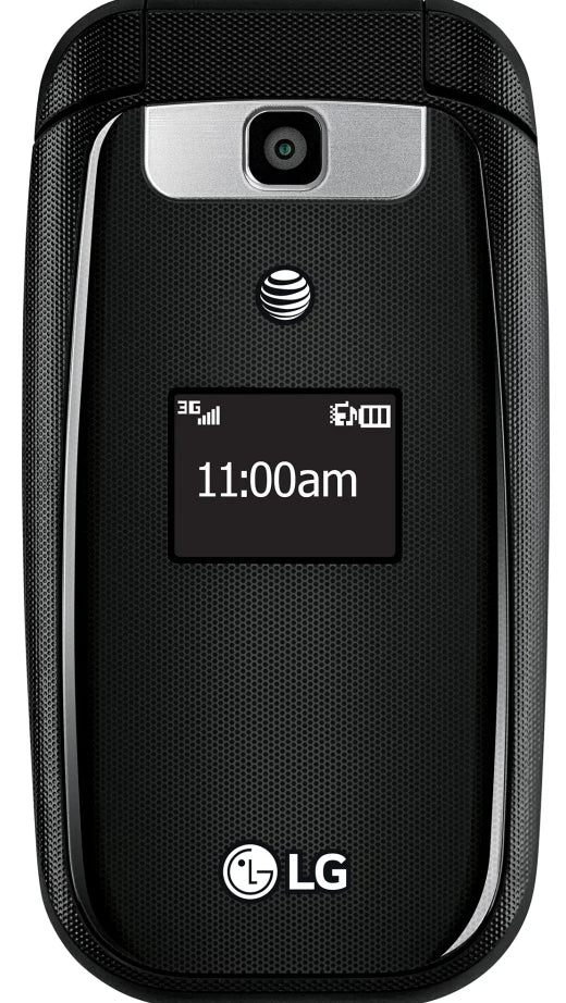 LG B470 AT&T Branded Basic Flip Phone Unlocked (Black) - Brand New - Razzaks Computers - Great Products at Low Prices
