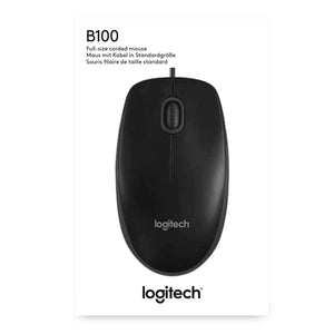 Logitech B100 Optical USB Wired Mouse - New - Razzaks Computers - Great Products at Low Prices