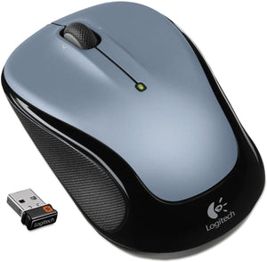 Logitech M325 Wireless Optical Mouse - Silver - BRAND NEW - Razzaks Computers - Great Products at Low Prices