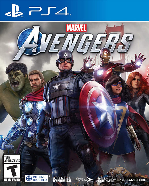 Marvel Avengers Game for PS4 - PlayStation 4 - New - Razzaks Computers - Great Products at Low Prices