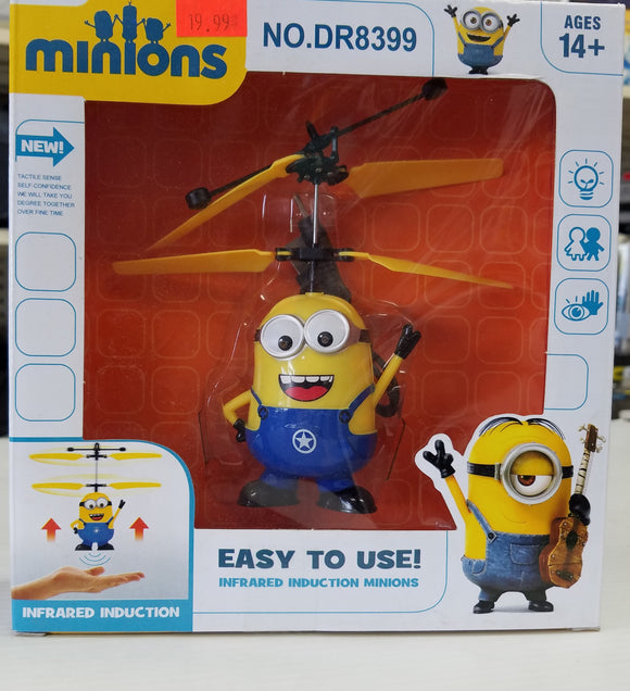 Minions - Easy to use infrared induction flying minions for Ages 14+ - New