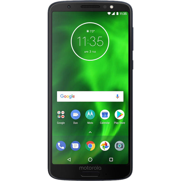 MOTOROLA MOTO G6 PLAY XT1922-5 32GB 5.7 DUAL SIM 4G LTE UNLOCKED PHONE - DEEP INDIGO - Razzaks Computers - Great Products at Low Prices