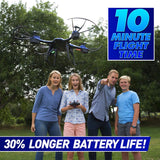 National Geographic Quadcopter Drone - With Auto-Orientation and 1-Button Take-Off  - NEW