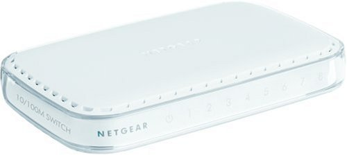 NETGEAR 8-Port Fast Ethernet Switch (FS608) - NEW