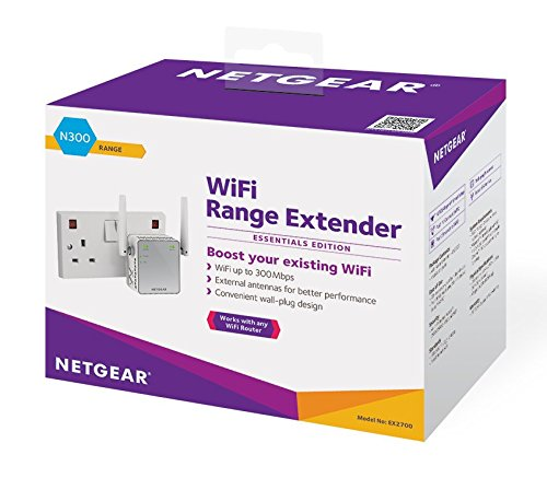 NETGEAR N300 WiFi Range Extender - (EX2700) - NEW - Razzaks Computers - Great Products at Low Prices