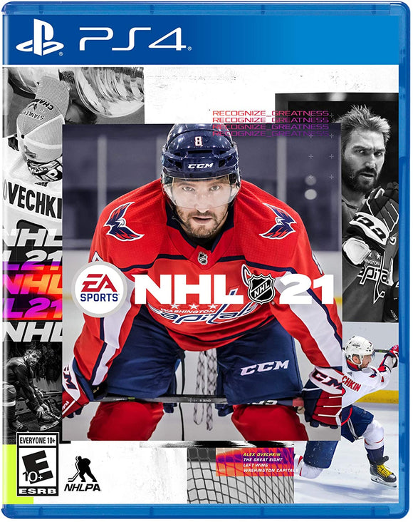 NHL 21 for PS4 PlayStation 4 Game - Brand New Sealed - Razzaks Computers - Great Products at Low Prices
