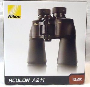 Nikon 12x50 Aculon A211 Binocular (Black) - Razzaks Computers - Great Products at Low Prices