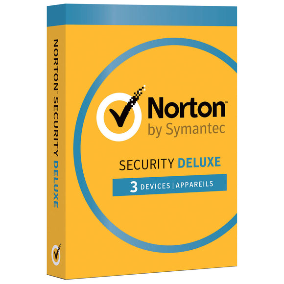 Norton Security Deluxe (PC/Mac) - 3 Devices - 1 Year Subscription - Razzaks Computers - Great Products at Low Prices