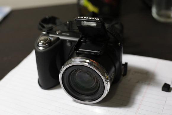 Olympus Digital Camera Sp-600Uz (Wide-Angle Optical 15 Times zoom) - USED
