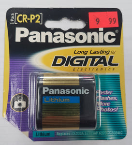 Panasonic CR-P2PA/1B CR-P2 Photo Lithium Battery Retail Pack - Single - Razzaks Computers - Great Products at Low Prices