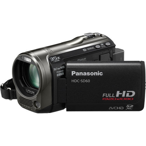 Panasonic HDC-SD60 High Definition Camcorder (Black) - USED
