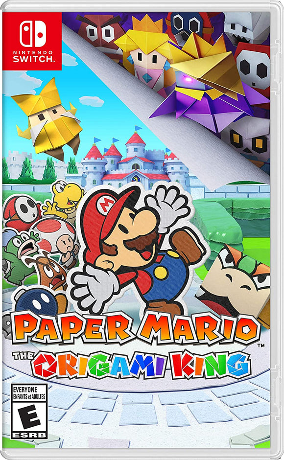 Paper Mario The Origami King for Nintendo Switch - New - Razzaks Computers - Great Products at Low Prices
