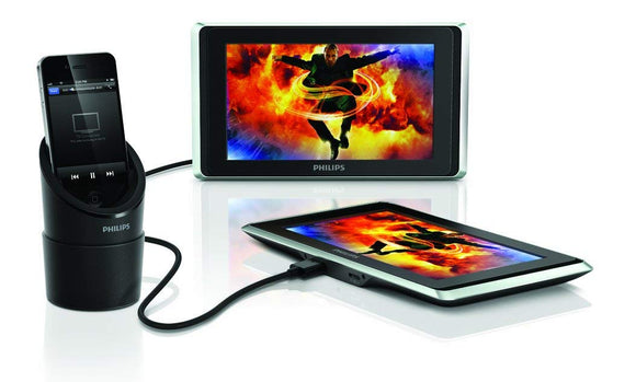 Philips PV7002i/37 TwinPlay 7-Inch Dual Screen In-Car Video Viewer for iPod, iPhone and iPad 4th Gen
